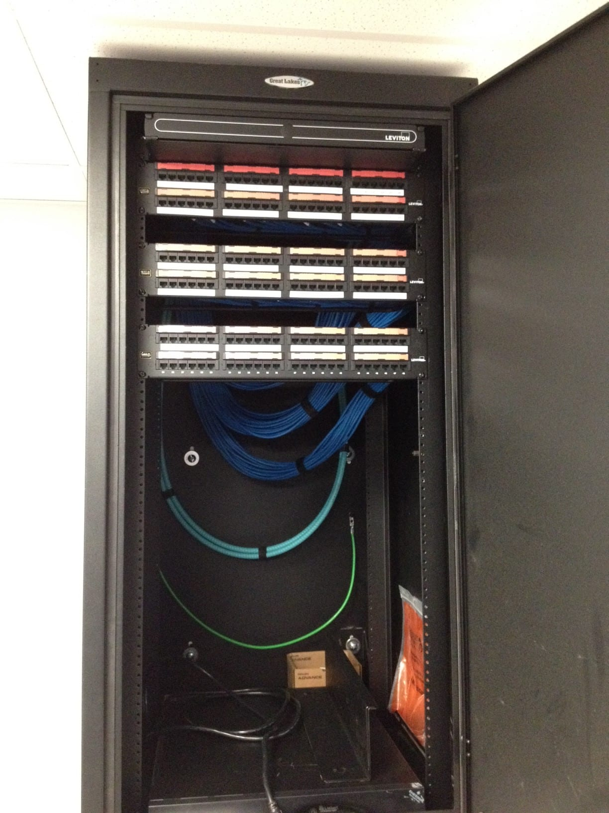 Telecom Business Solutions Cabling Projects